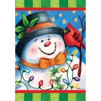 DRAPEAU L'ami du bonhomme de neige