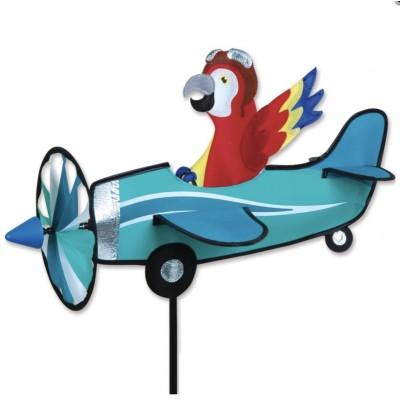 VIRE-VENT AVION PILOTE