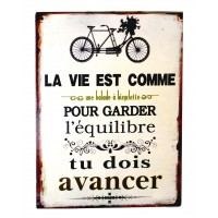 AFFICHE EQUILIBRE