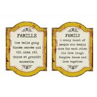 AFFICHE FAMILLE RÉVERSIBLE