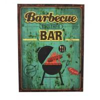 AFFICHE BBQ BAR