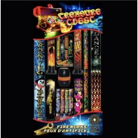 ASSORTIMENTS DE FEUX D'ARTIFICE TREASURE CHEST