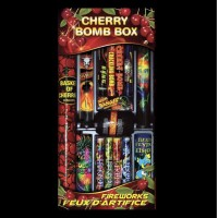 ASSORTIMENTS DE FEUX D'ARTIFICE CHERRY BOMB BOX