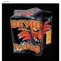 DEVIL TATOO FEUX D'ARTIFICE BOMBARDOS