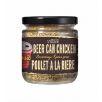 Assaisonnements pour Poulet à la Bière dans Un Bocal Rétro